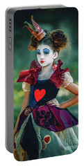 The Queen Of Hearts Alice In Wonderland Portable Battery Charger