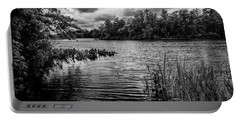 The Rancocas River Landscape Portable Battery Charger