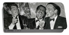 The Rat Pack Collection Portable Battery Charger