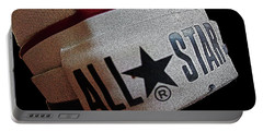 The Converse All Star Rear Label. Portable Battery Charger