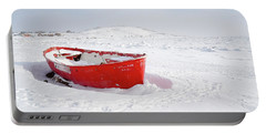 The Red Fishing Boat Portable Battery Charger