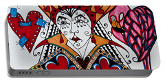 The Red Queen Portable Battery Charger