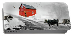 The Red Red Barn Portable Battery Charger
