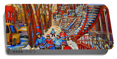 Forum Shops Paintings Portable Battery Chargers