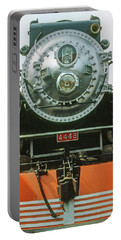 Portable Battery Charger featuring the photograph The Restored Southen Pacific Daylight Locomotive No. 4449 by Frank DiMarco