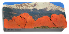 The Result Of Igneous Activity Eons Ago Portable Battery Charger by Bijan Pirnia