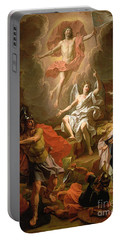 The Resurrection Of Christ Portable Battery Charger