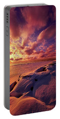 Portable Battery Charger featuring the photograph The Return by Phil Koch