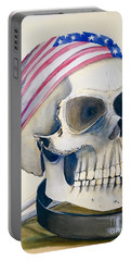 The Rider's Skull Portable Battery Charger