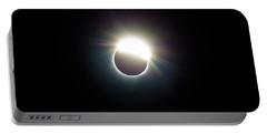 The Ring Of 2017 Solar Eclipse Portable Battery Charger