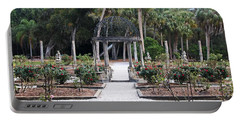 The Ringling Rose Garden Portable Battery Charger