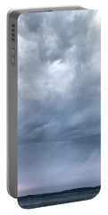 Portable Battery Charger featuring the photograph The Rising Storm by Jouko Lehto