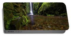 The River Rocks Portable Battery Charger by Jonathan Davison
