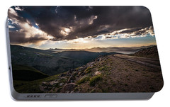 Portable Battery Charger featuring the photograph The Road Less Traveled by Chris Bordeleau