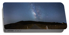 The Road To The Milky Way Portable Battery Charger