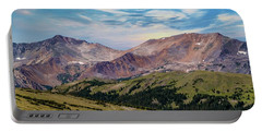 Portable Battery Charger featuring the photograph The Rockies by Bill Gallagher