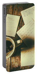 The Romantic Writers Loft Portable Battery Charger