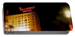 The Roosevelt Hotel By David Pucciarelli  Portable Battery Charger