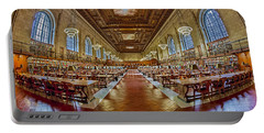 The Rose Main Reading Room Nypl Portable Battery Charger