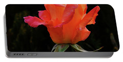 The Rose Portable Battery Charger by Mark Blauhoefer