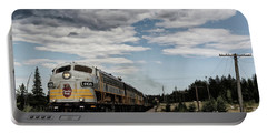 Portable Battery Charger featuring the photograph The Royal Canadian Pacific  by Brad Allen Fine Art