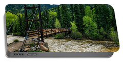 The Rushing Animas River - Colorado Portable Battery Charger