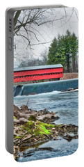 Portable Battery Charger featuring the photograph The Sachs by Mark Dodd