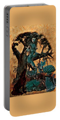 The Sacred Waters Portable Battery Charger by Vennie Kocsis