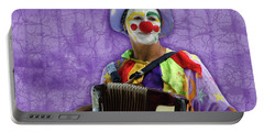 The Sad Clown Portable Battery Charger