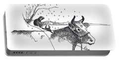 The Sad Story Of Hanna Dow's Hill On Deer Island Portable Battery Charger
