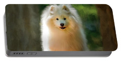 The Samoyed Smile Portable Battery Charger