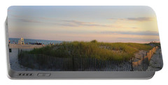 The Sand Dunes Of Long Island Portable Battery Charger