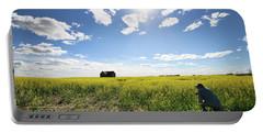 The Saskatchewan Prairies Portable Battery Charger
