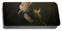 Portable Battery Charger featuring the photograph The Scent Of Jasmines by Randi Grace Nilsberg