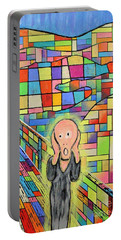 The Scream Jeremy Style Portable Battery Charger