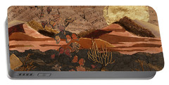 Portable Battery Charger featuring the painting The Scream Of A Butterfly by Stanza Widen