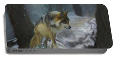 The Searching Wolf Portable Battery Charger