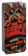 Portable Battery Charger featuring the photograph The Second Fiddle Nashville by Stephen Stookey