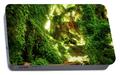 Portable Battery Charger featuring the photograph The Secret Garden, Perth by Dave Catley