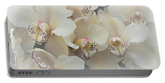 The Secret To Orchids Portable Battery Charger by Sherry Hallemeier