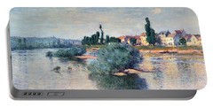 The Seine At Lavacourt Portable Battery Charger