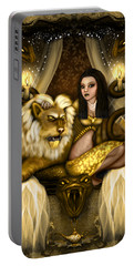 The Serpent Gateway Fantasy Art Portable Battery Charger