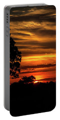 Portable Battery Charger featuring the photograph The Setting Sun by Mark Dodd
