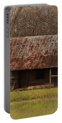 Portable Battery Charger featuring the photograph The Shack by Aaron Martens