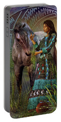 The Horse Whisperer Portable Battery Charger by Shadowlea Is