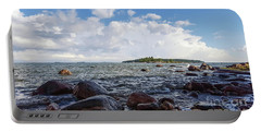 The Shore In Helsinki, Finland. Portable Battery Charger