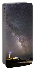 Portable Battery Charger featuring the photograph The Shore Of Night by Alex Lapidus