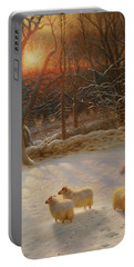 The Shortening Winters Day Is Near A Close-detail-1 Portable Battery Charger