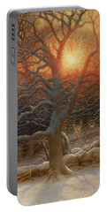 The Shortening Winters Day Is Near A Close-detail-2 Portable Battery Charger
