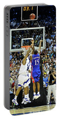 The Shot, 3.1 Seconds, Mario Chalmers Magic, Kansas Basketball 2008 Ncaa Championship Portable Battery Charger
